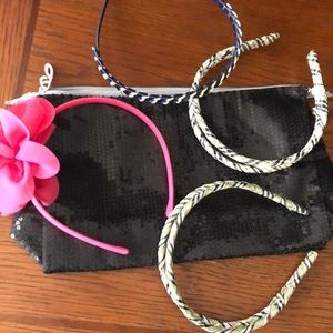 Other - Headbands and bag